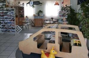 Kundenoase Kinderbereich Autohaus Rothe