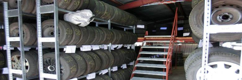 Rädereinlagerung Autohaus Rothe